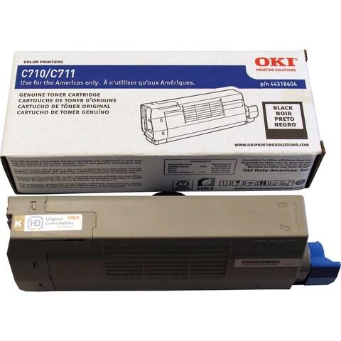 Oki 44318604 Toner Cartridge - Black