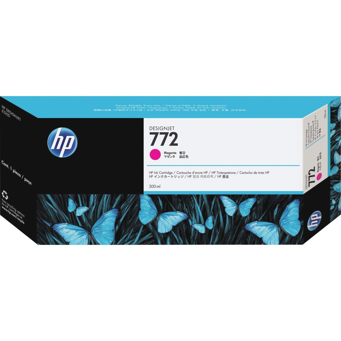 HP 772 Ink Cartridge - Magenta