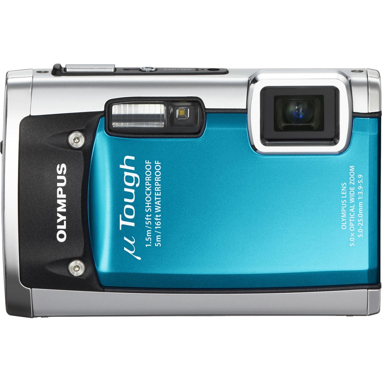 Olympus Tough 8010 14MP Blue Digital Camera