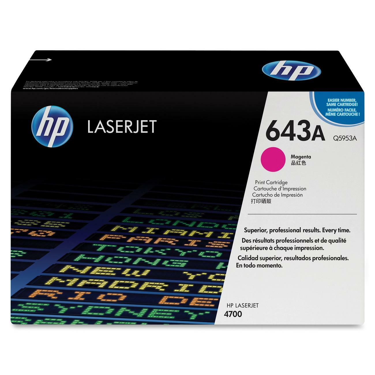 HP 643A Toner Cartridge
