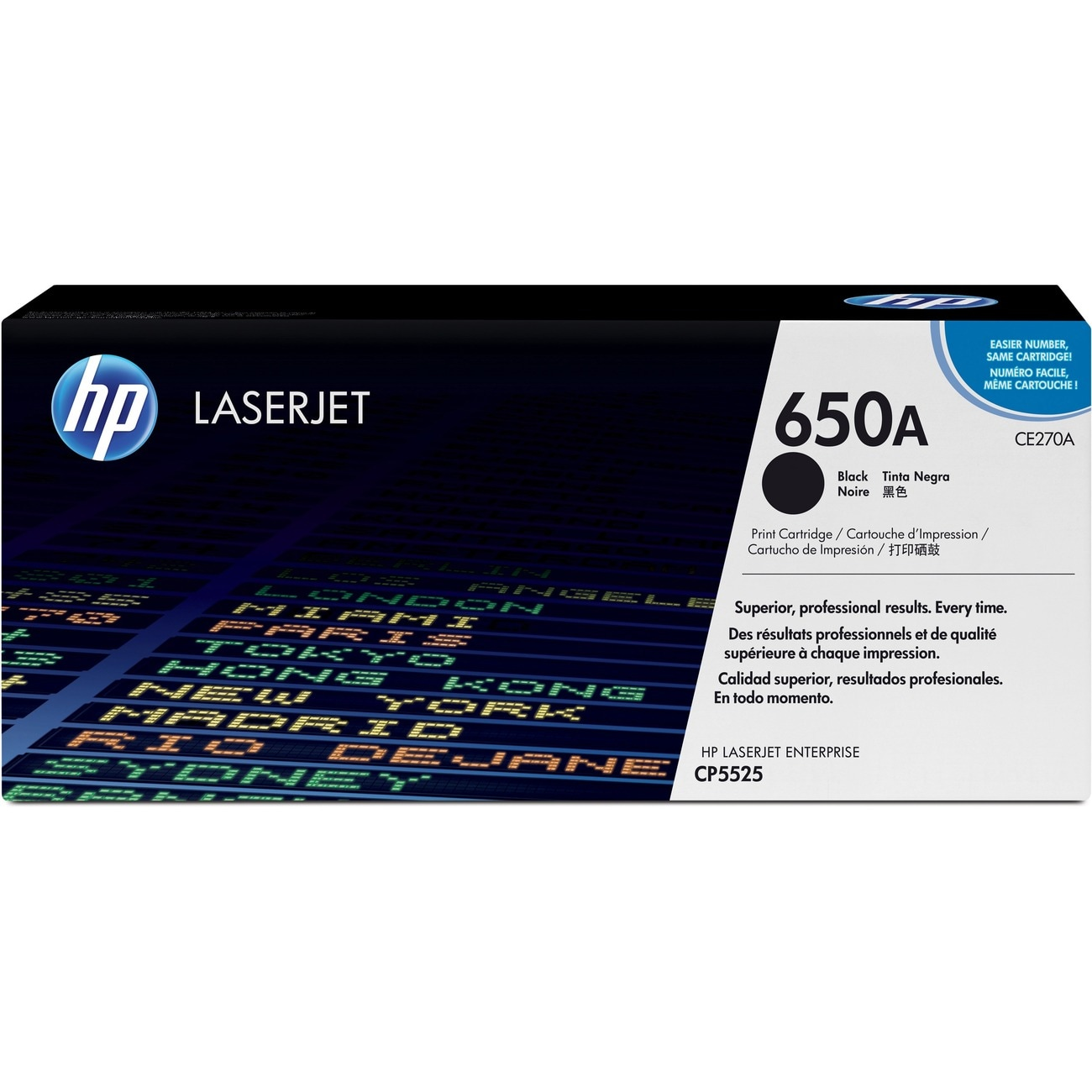 HP CE270A Toner Cartridge