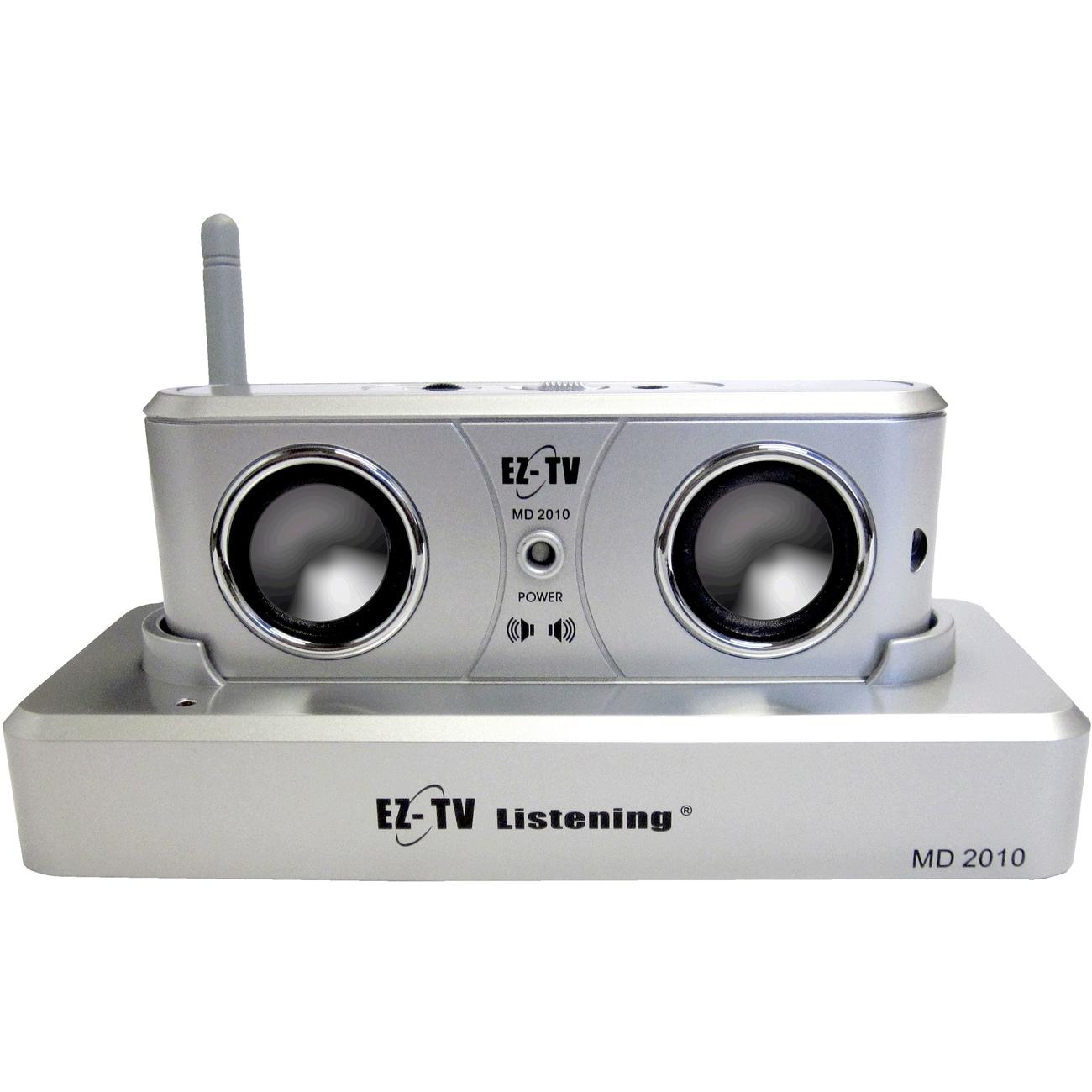 EZ-TV Listening ND2010S Speaker System - White