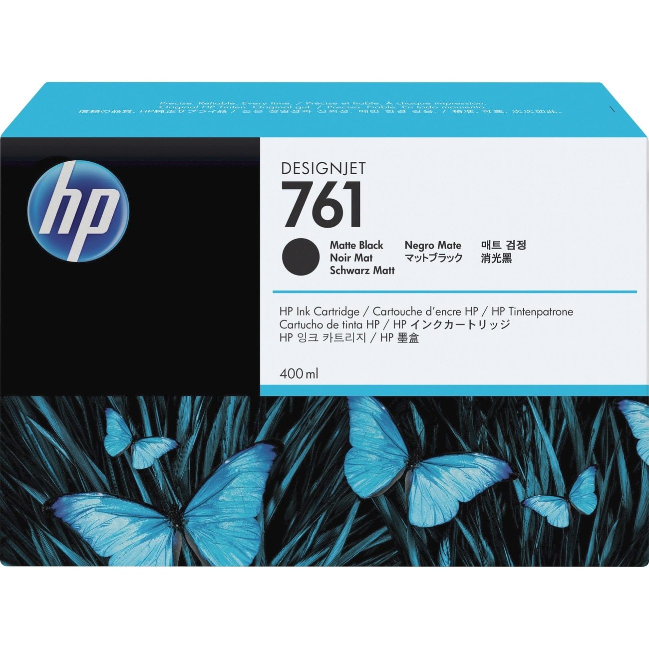 HP 761 Ink Cartridge - Black
