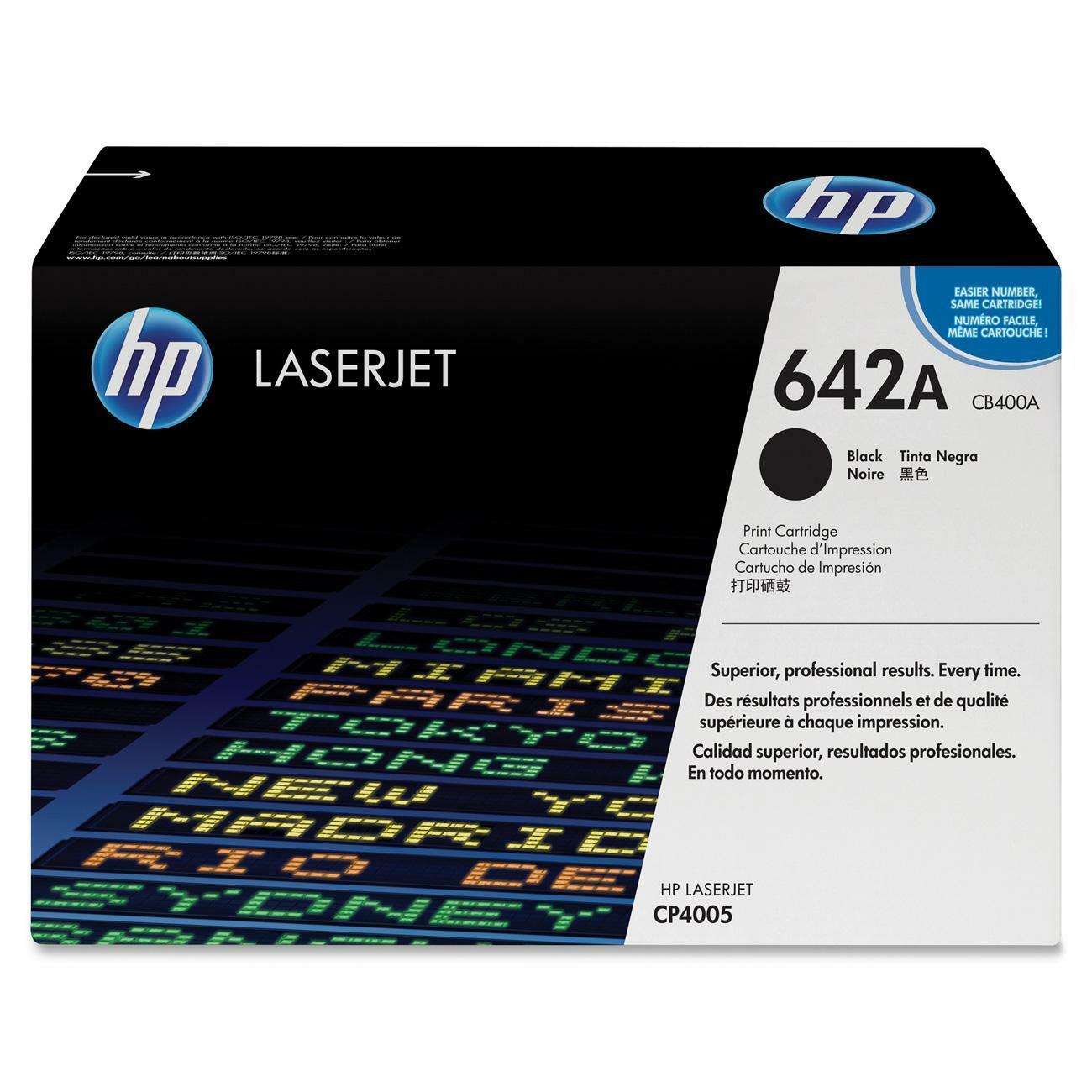 HP 642A Toner Cartridge