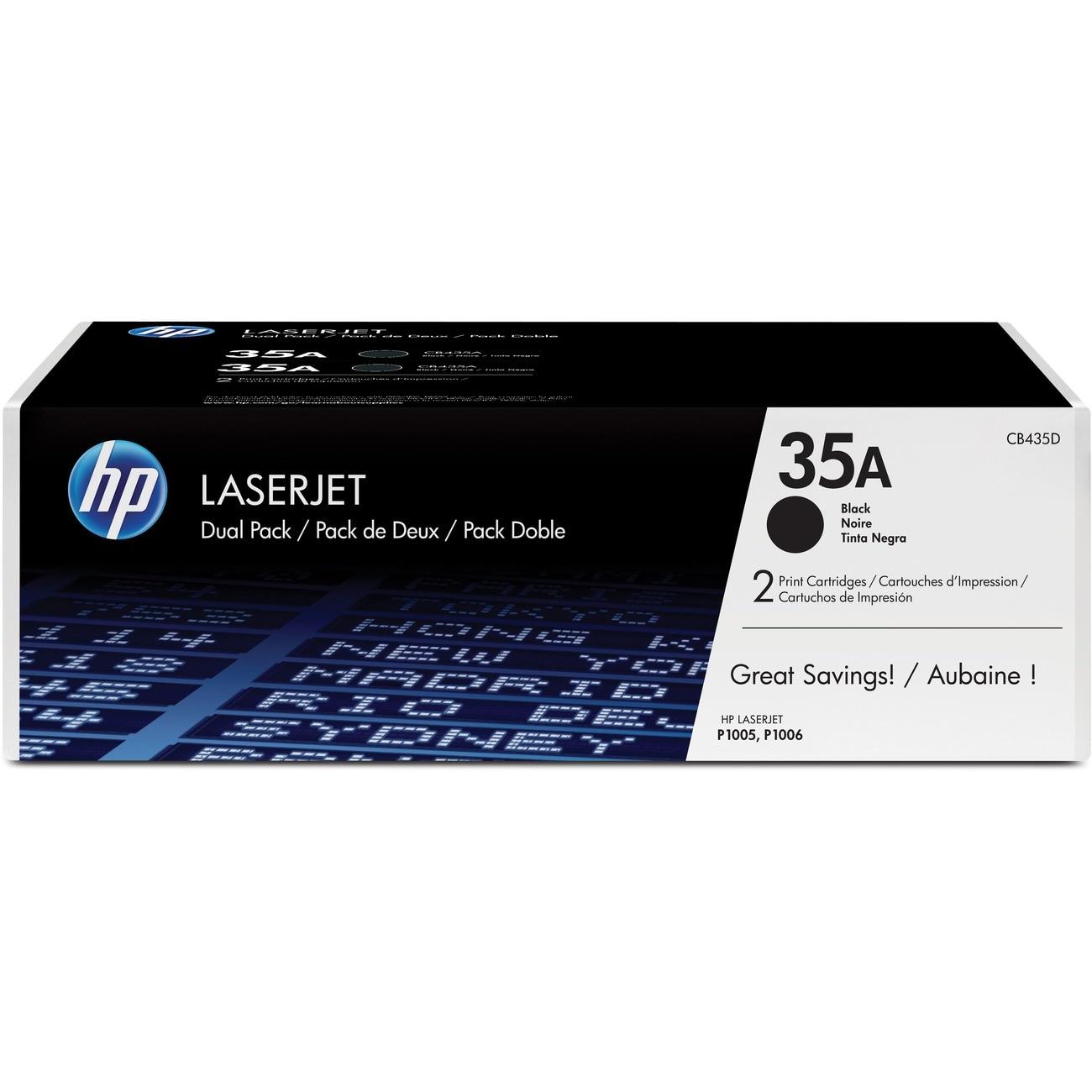 HP No. 35A Toner Cartridge - Black