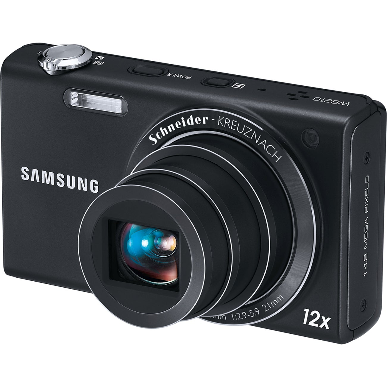 Samsung WB210 14MP Black Digital Camera