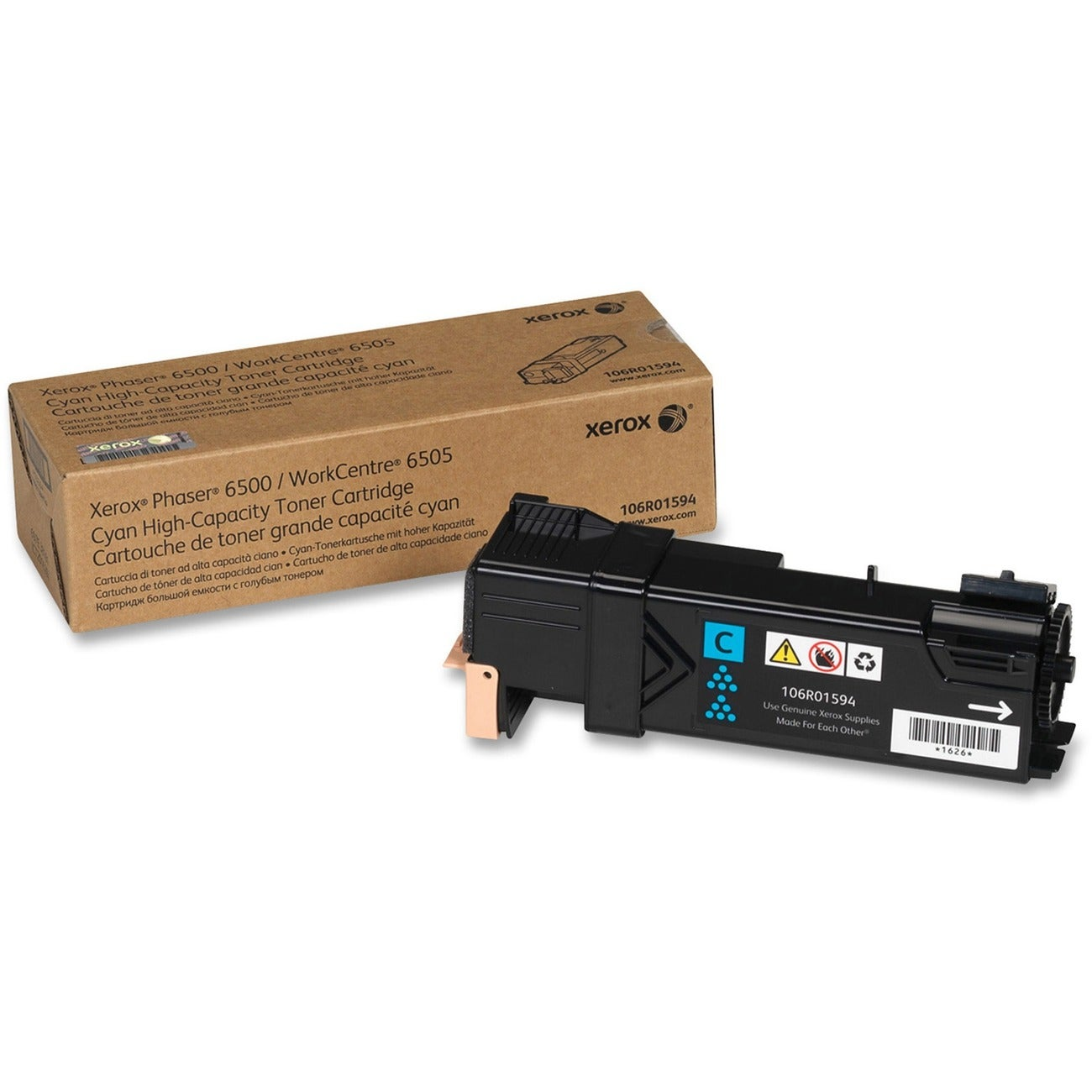 Xerox 106R01594 High Capacity Toner Cartridge
