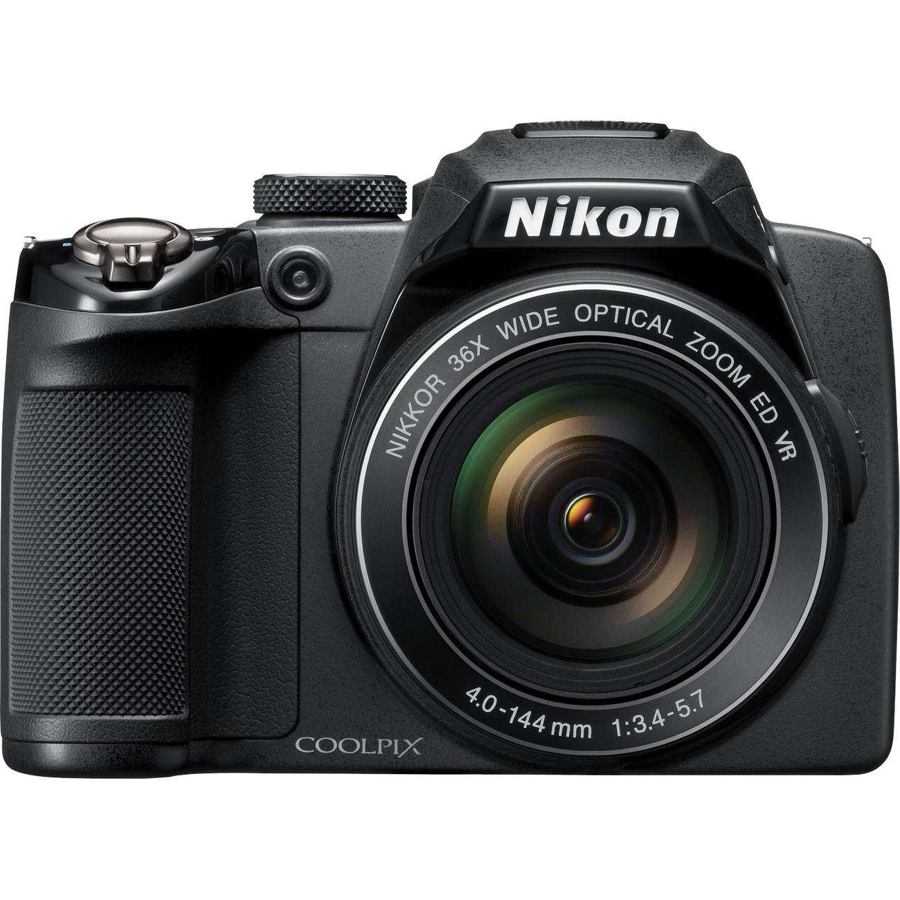 Nikon Coolpix P500 12MP Black Digital Camera