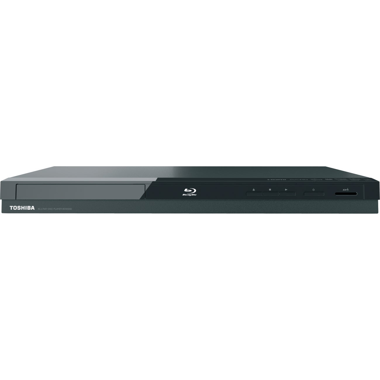 Toshiba BDX2200 Blu-ray Disc Player - 1080p - Thumbnail 0