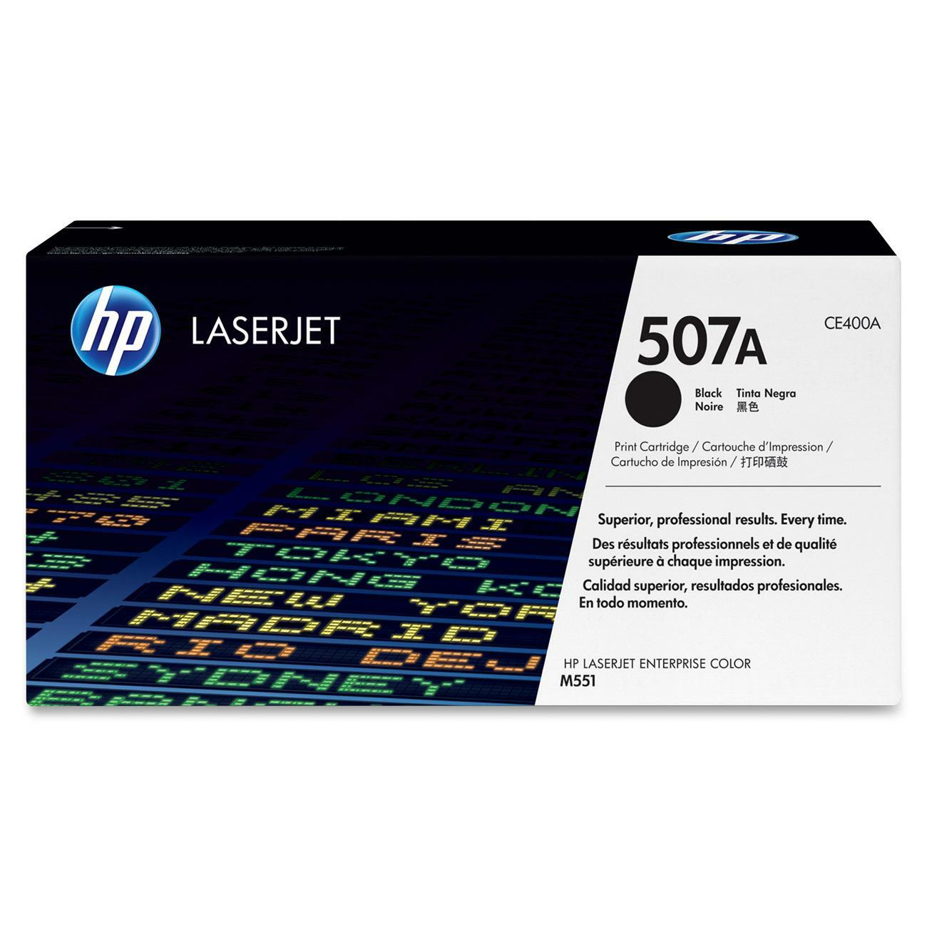 HP 507A Toner Cartridge - Black