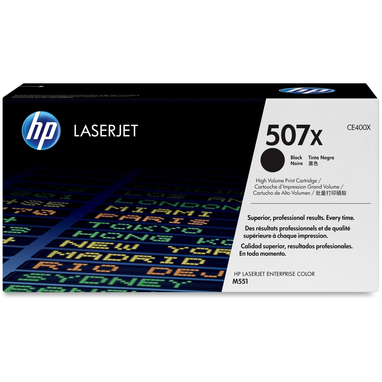 HP 507X Toner Cartridge - Black - Thumbnail 0