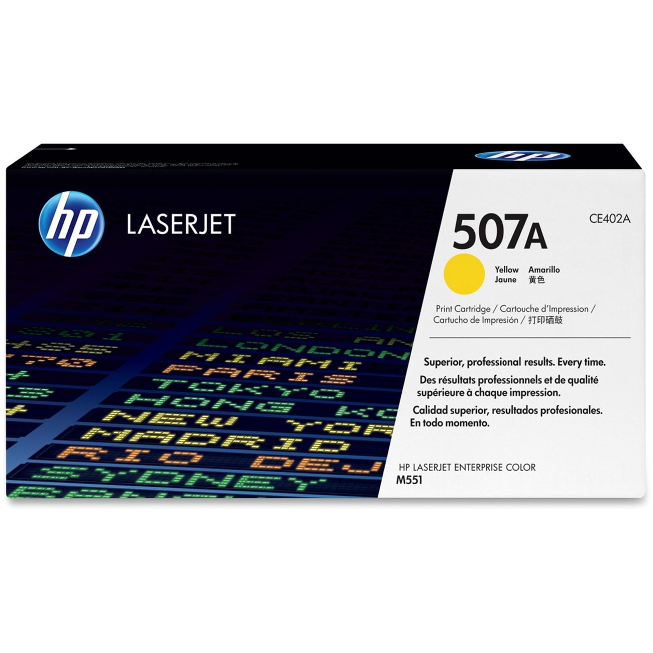 HP 507A Toner Cartridge - Yellow