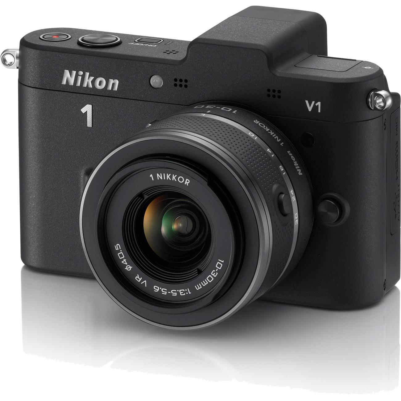 Nikon V1 10.1MP Mirrorless Digital SLR Camera with 10-33mm Lens
