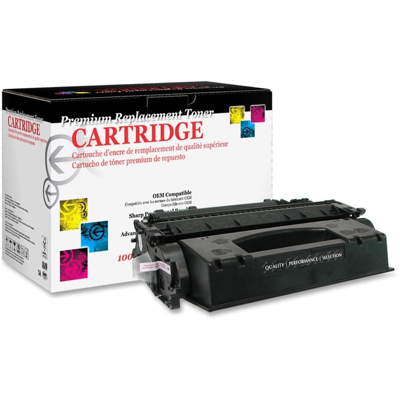 West Point Remanufactured Toner Cartridge - Alternative f...