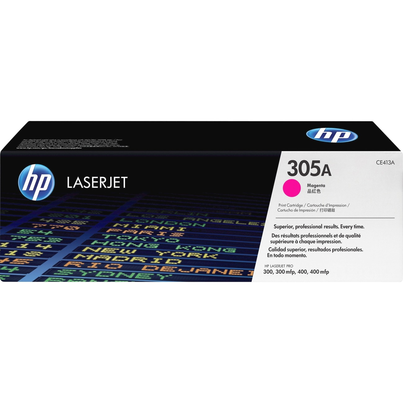 HP 305A Magenta Toner Cartridge for HP LaserJet Pro Printers - Thumbnail 0