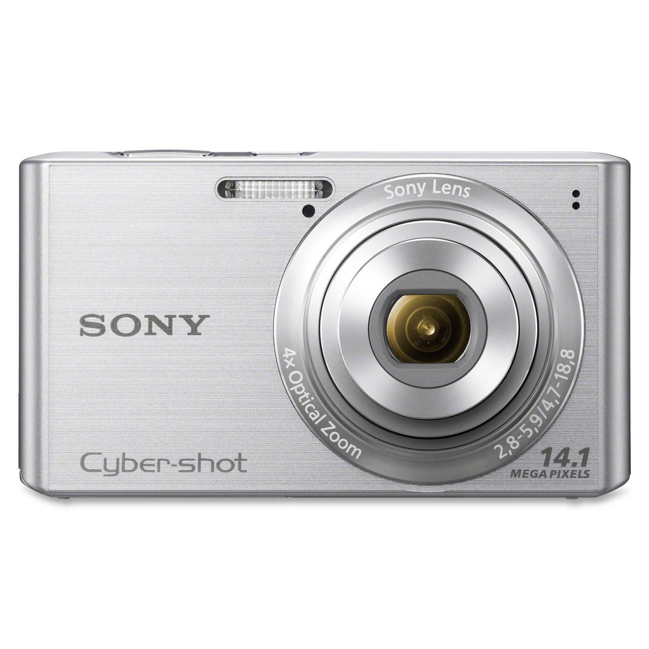 Sony Cyber-shot DSC-W610 14.1MP Silver Digital Camera