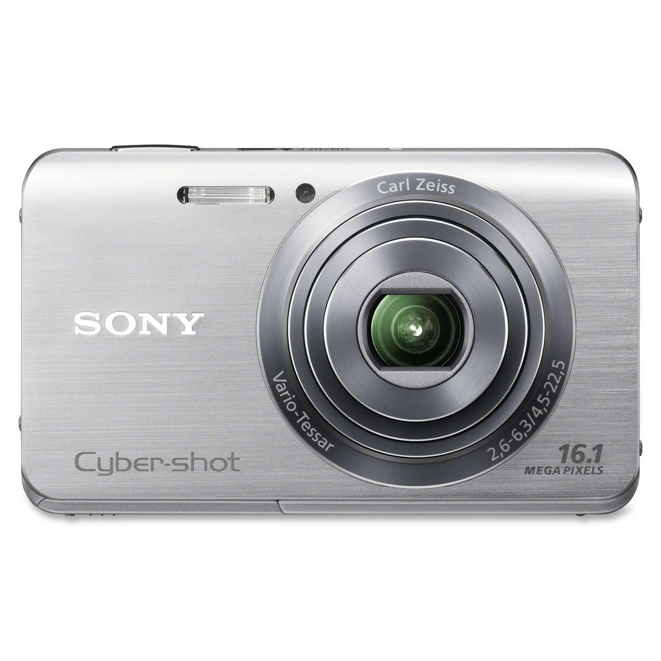 Sony Cyber-shot DSC-W650 16.1MP Silver Digital Camera - Thumbnail 0