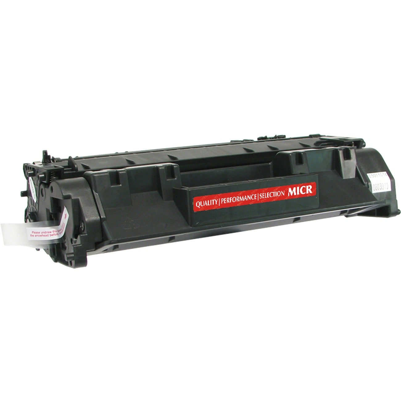 V7 MICR Toner Cartridge - Remanufactured for HP (CE505A) - Black
