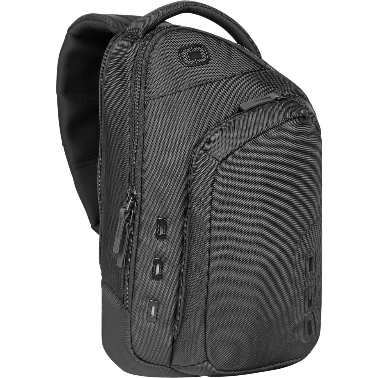 "Ogio NEWT II MONO Carrying Case (Backpack) for 15"" Notebook - Black"