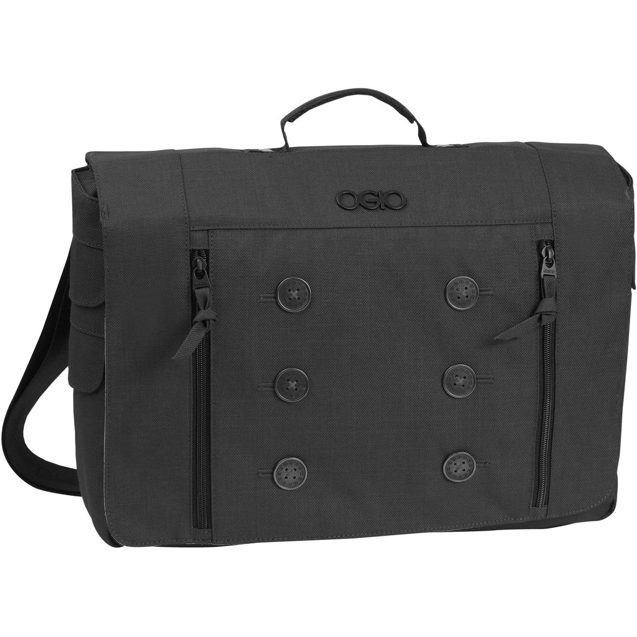 Ogio Manhattan Black 15-inch Laptop Messenger Bag