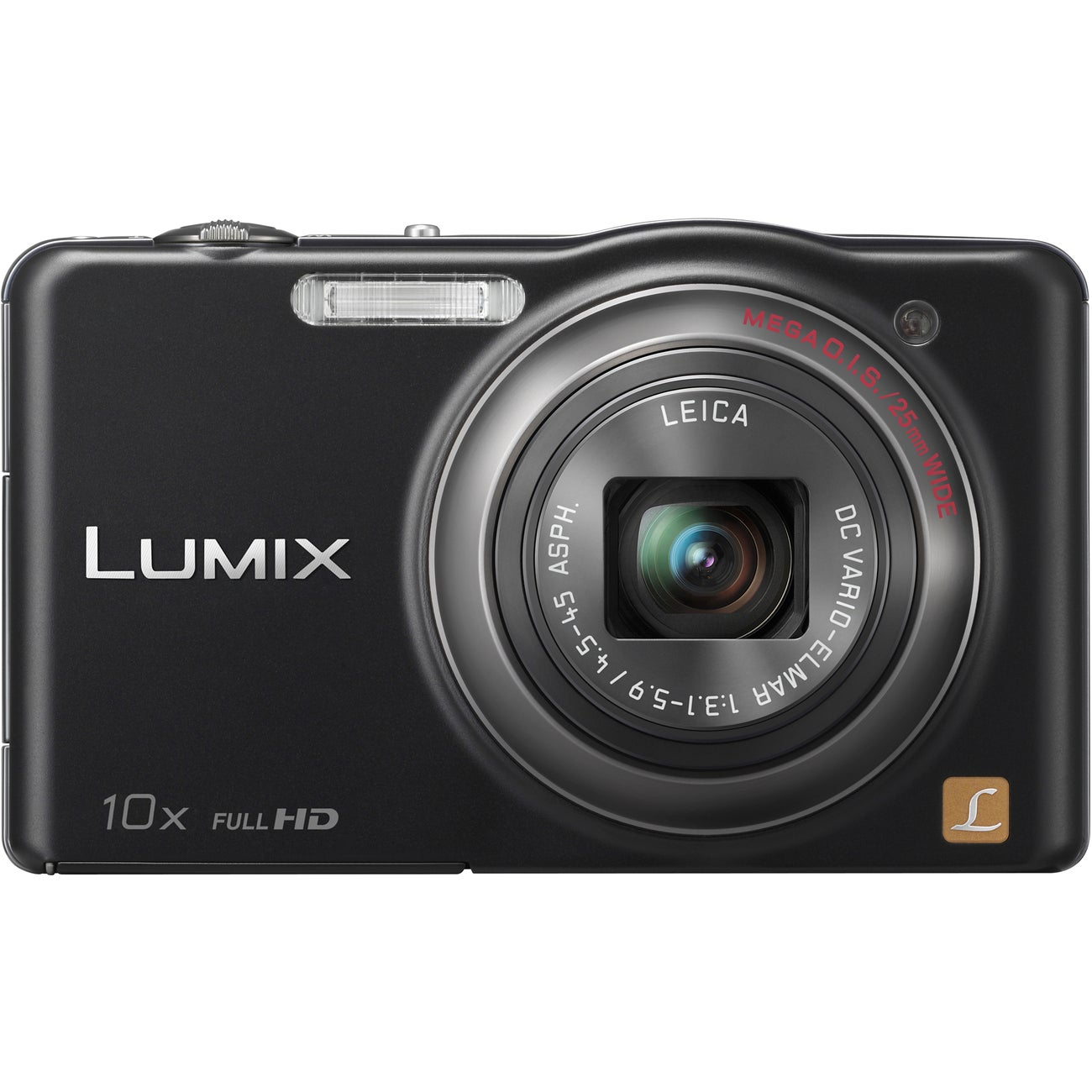 Panasonic Lumix DMC-SZ7 14.1MP Black Digital Camera