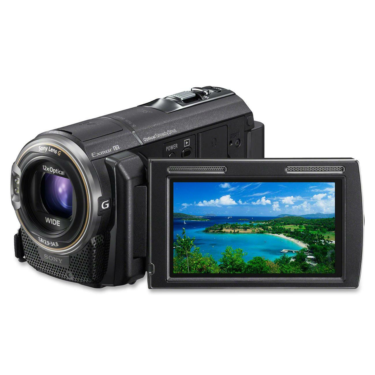 "Sony Handycam Digital Camcorder - 3"" - Touchscreen LCD - CMOS - Full"