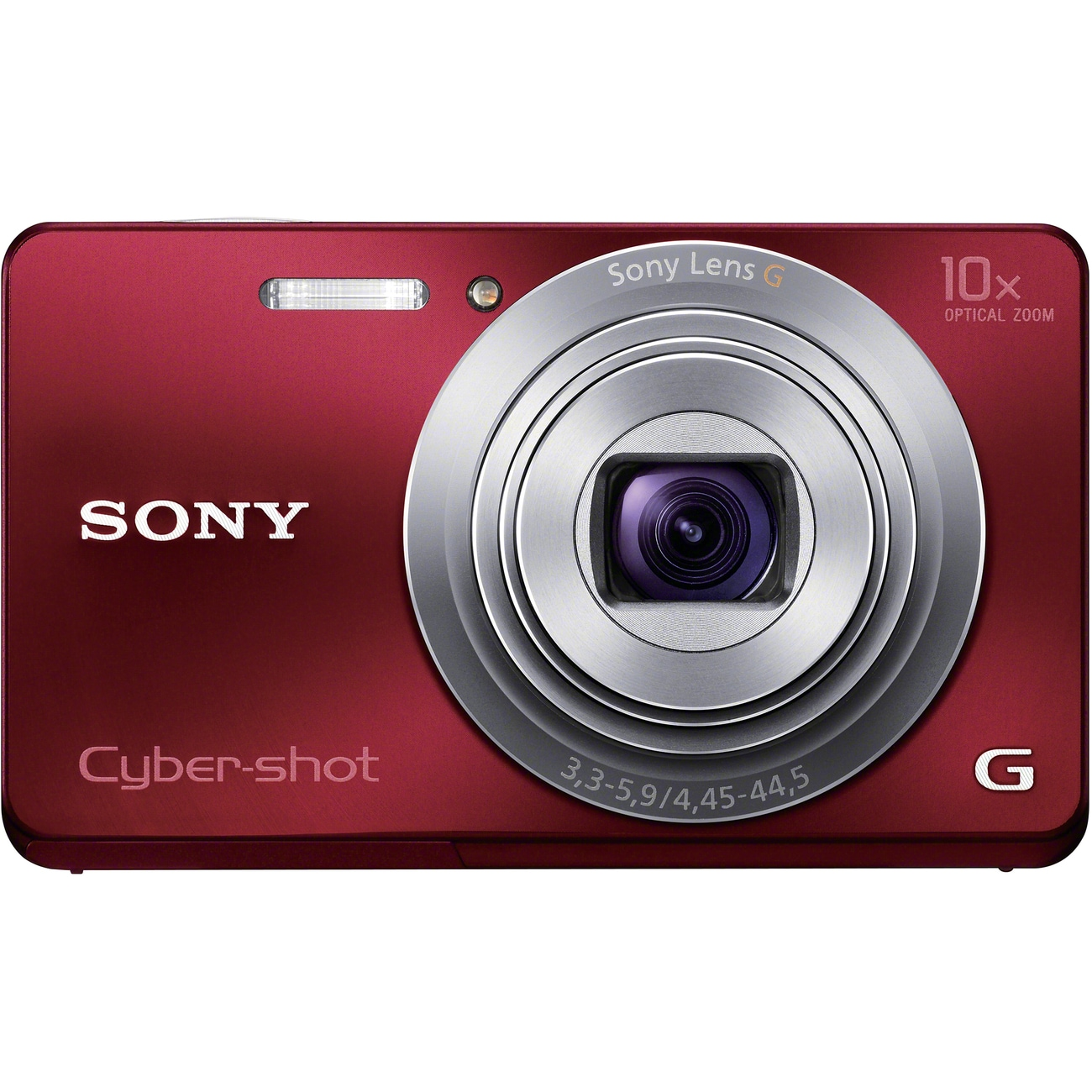 Sony Cyber-shot DSC-W690 16.1 Megapixel Compact Camera - Red