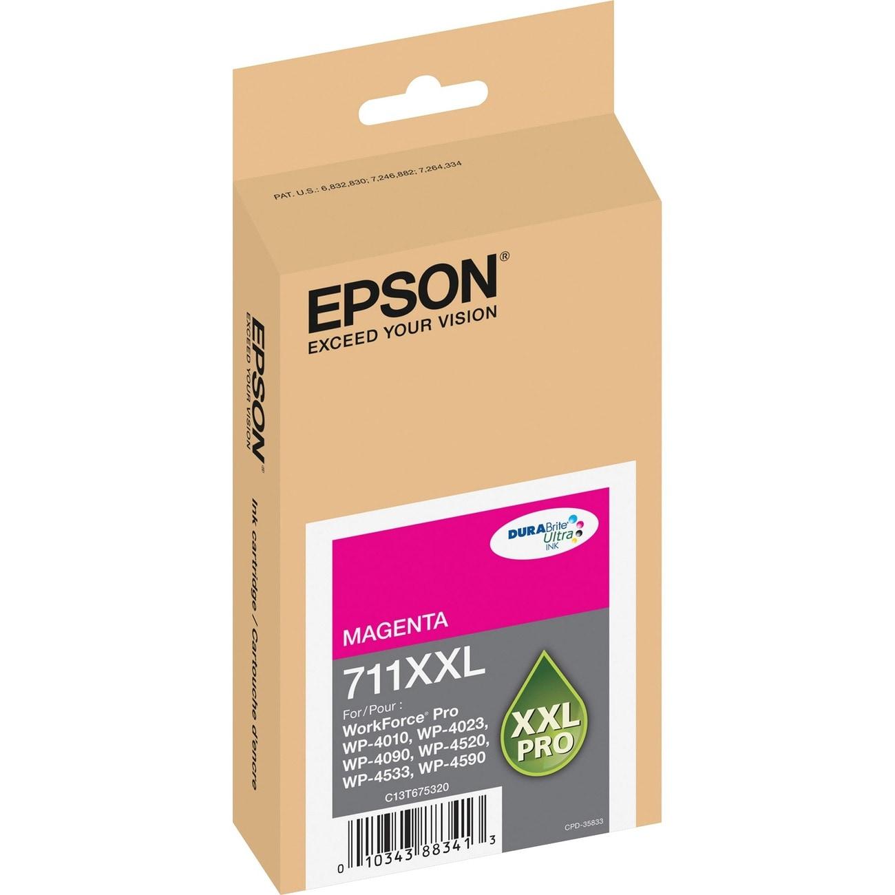 Epson DURABrite Ultra 711XXL Ink Cartridge - Magenta