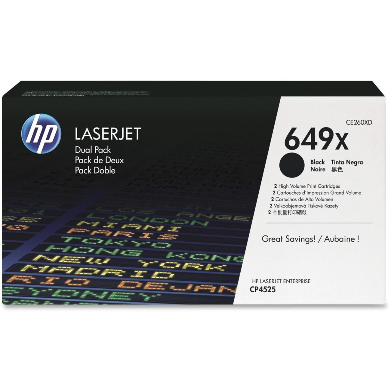 HP 649X Toner Cartridge - Black