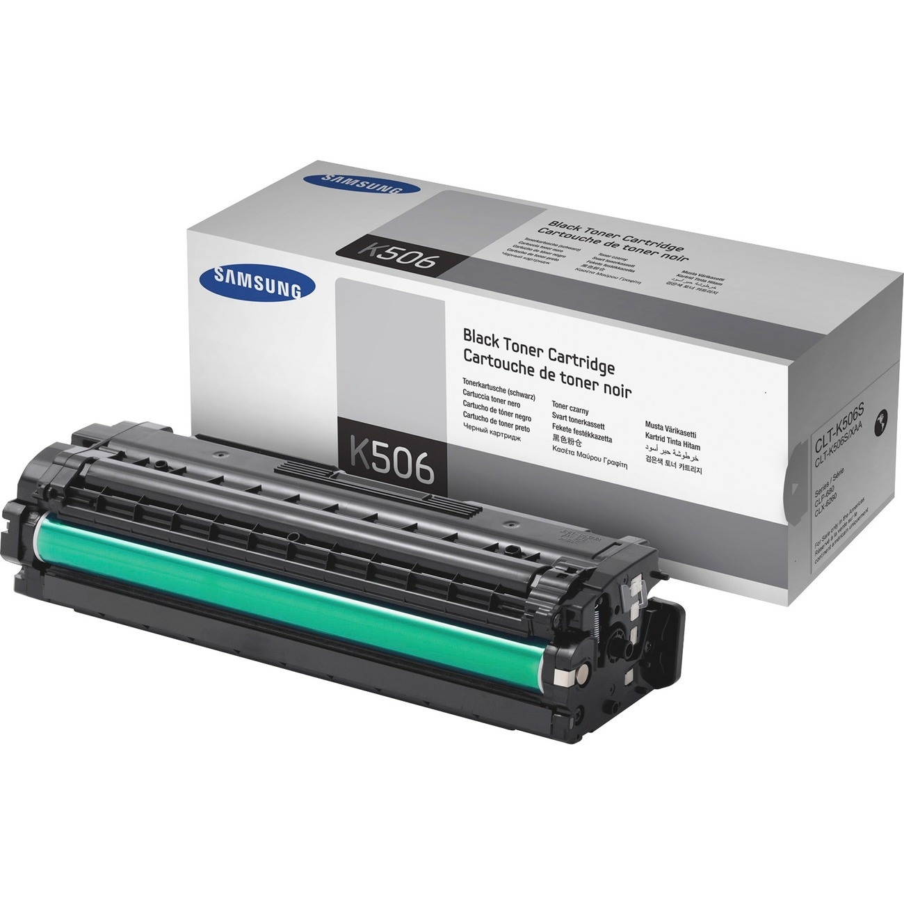 Samsung CLT-K506S Toner Cartridge - Black - Thumbnail 0