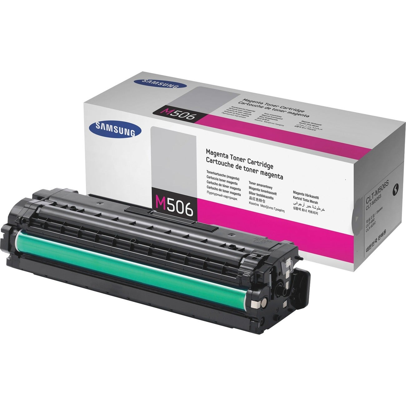 Samsung CLT-M506S Red/ Magenta Toner Cartridge