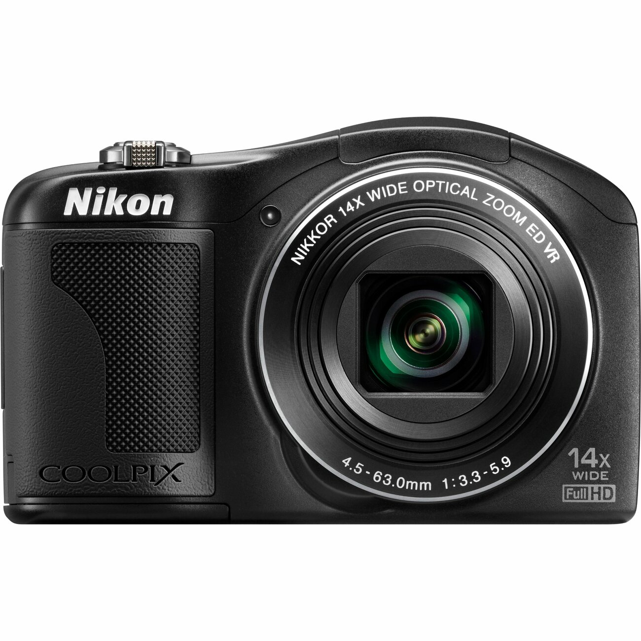 Nikon Coolpix L610 16MP Black Digital Camera