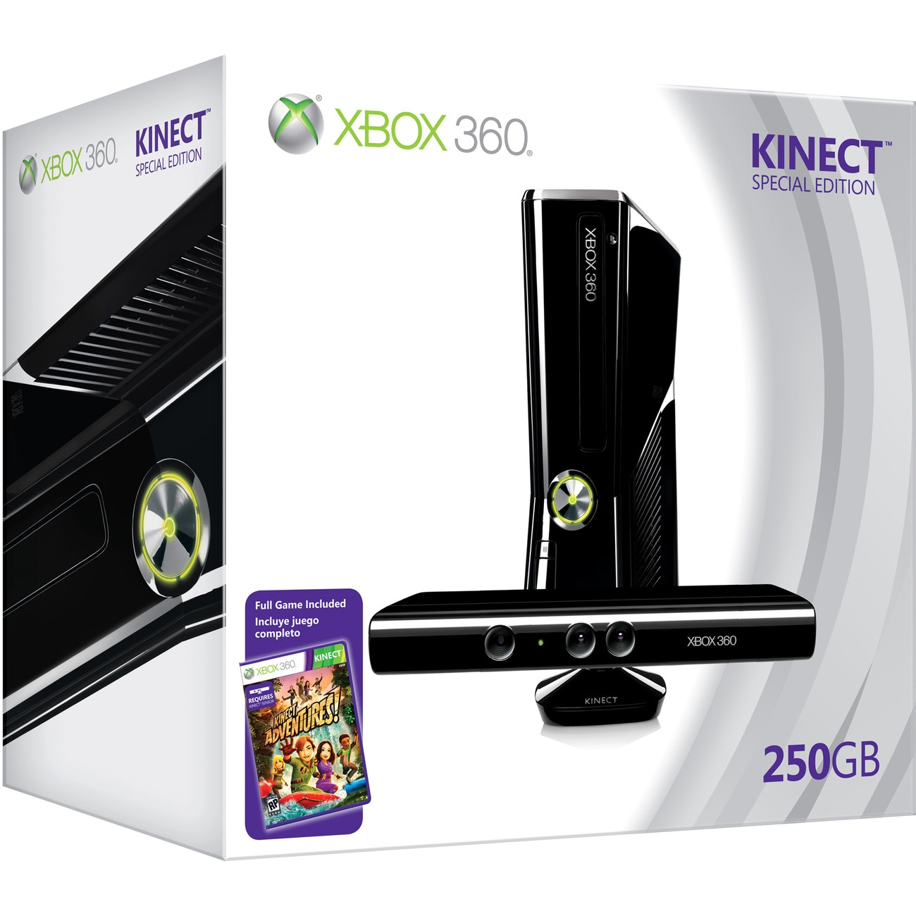 Xbox 360 - Limited Edition Kinect Holiday Bundle