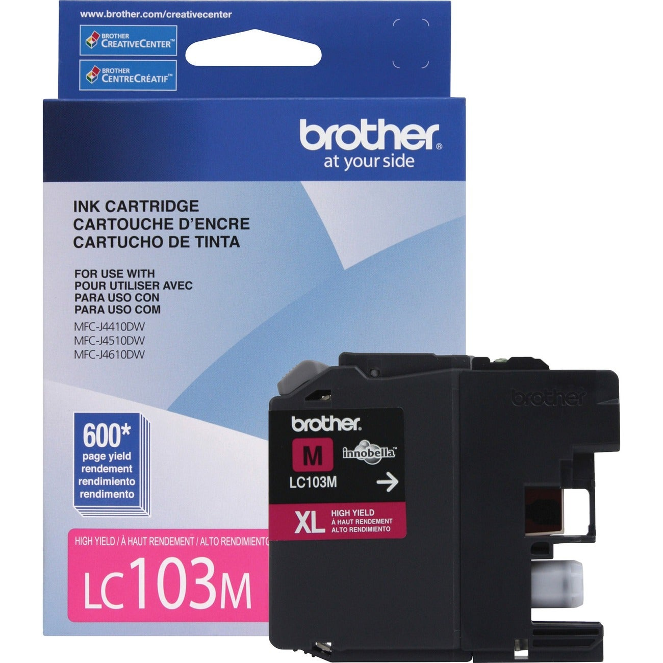 Brother Innobella LC103M Ink Cartridge - Magenta - Thumbnail 0