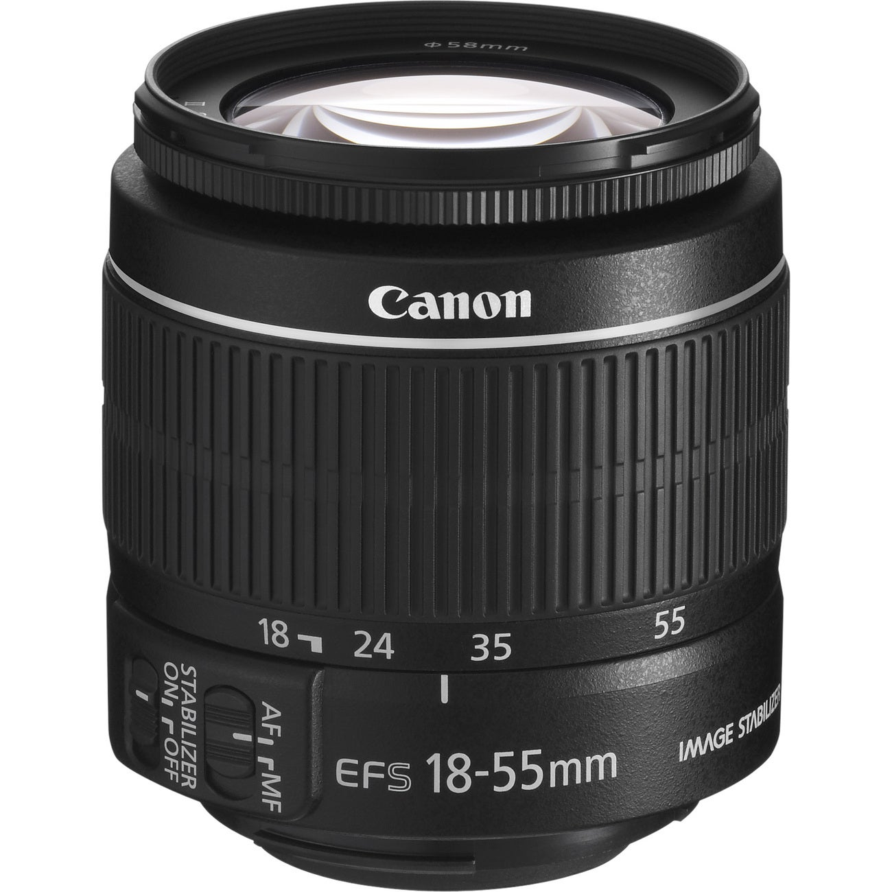 Canon EF-S 18-55mm f/3.5 - 5.6 IS II Zoom Lens (New in Non-Retail Packaging)