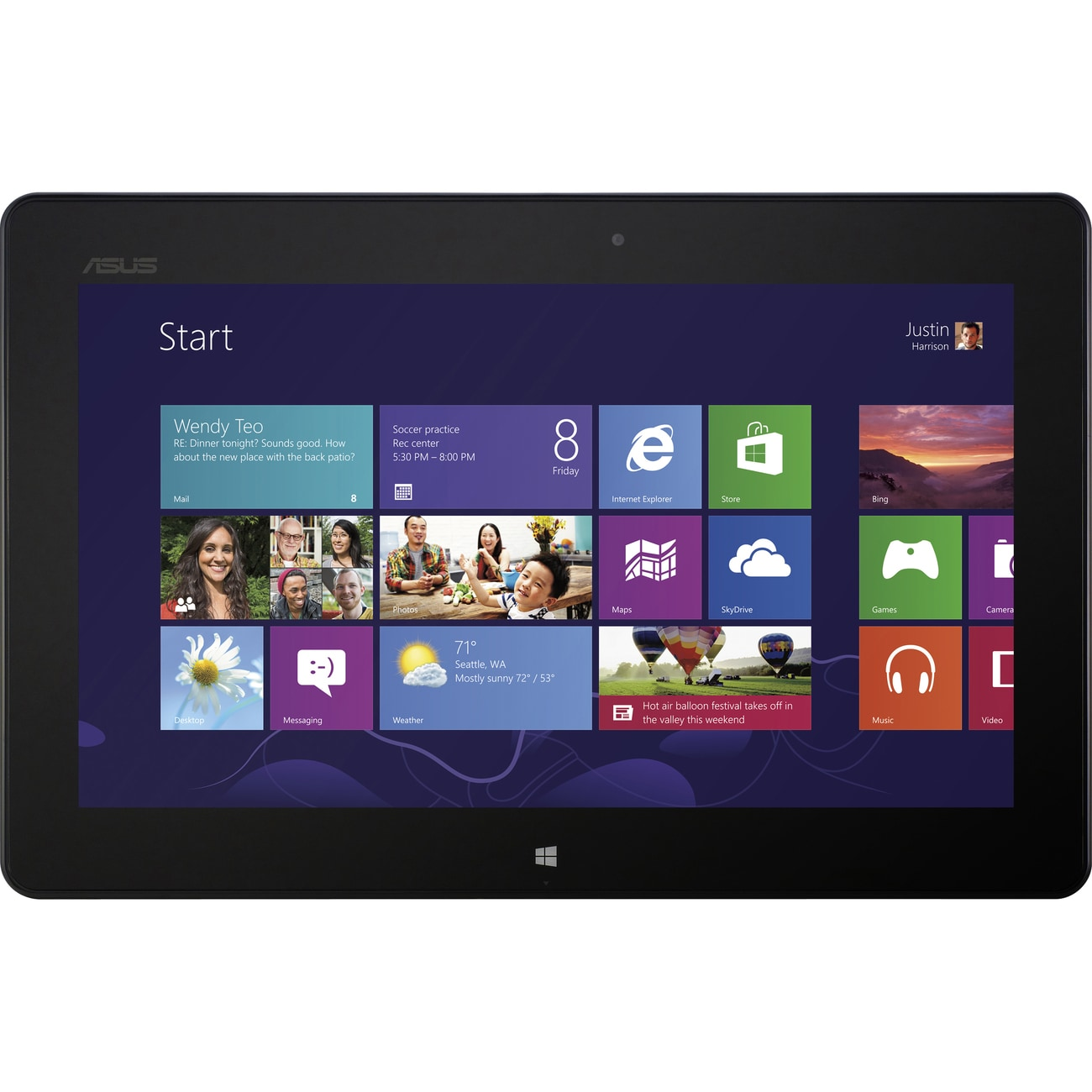 "Asus VivoTab RT 10.1"" 32GB Windows RT Tablet - Thumbnail 0"