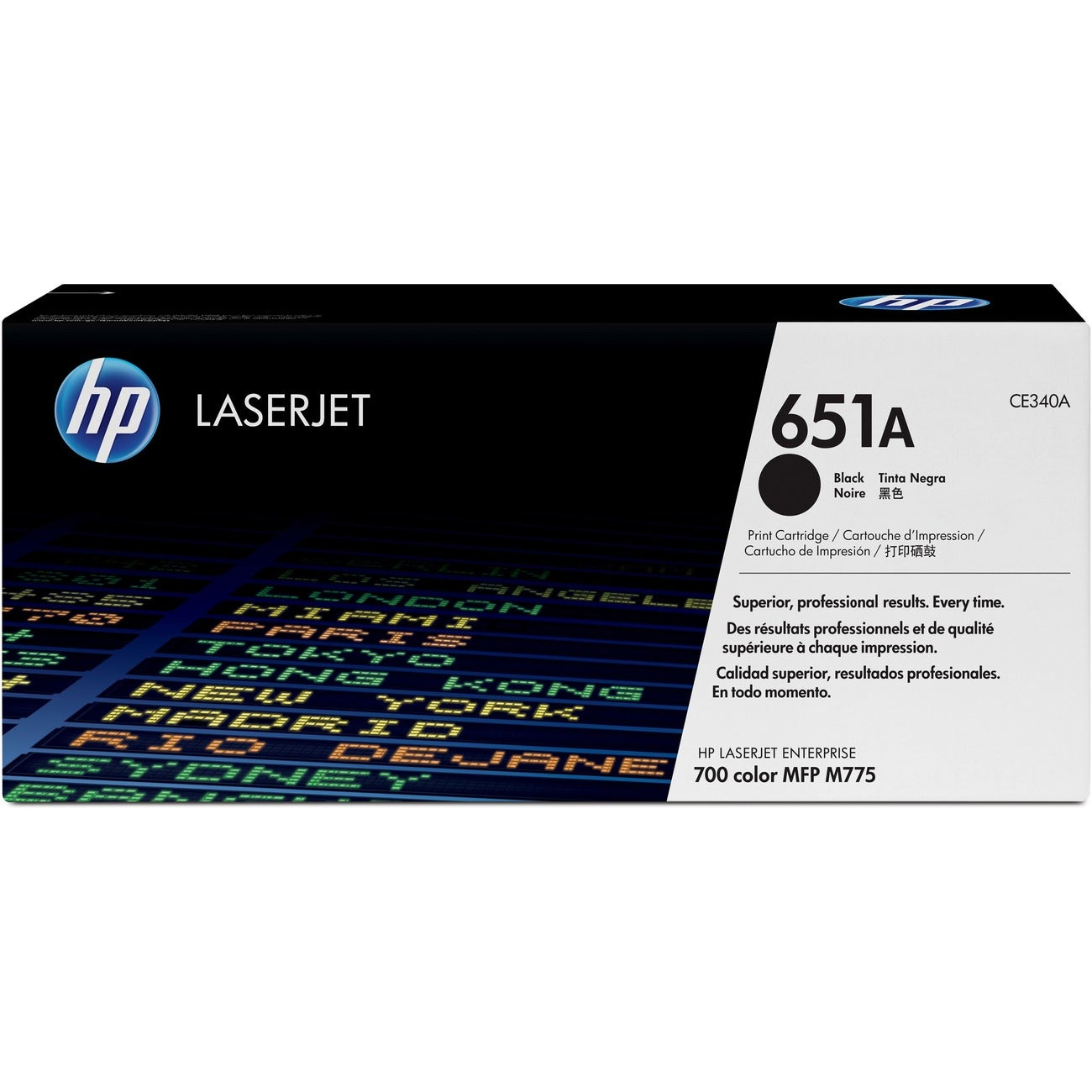 HP 651A Toner Cartridge - Black