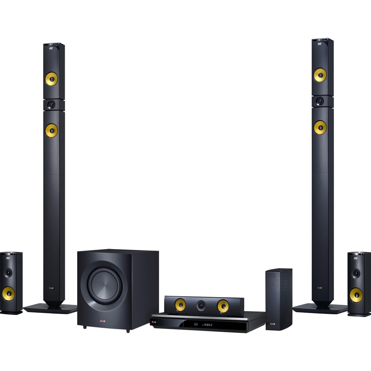 LG BH9430PW 1460W 9.1ch 3D Smart Home Theater System with Wireless Speakers