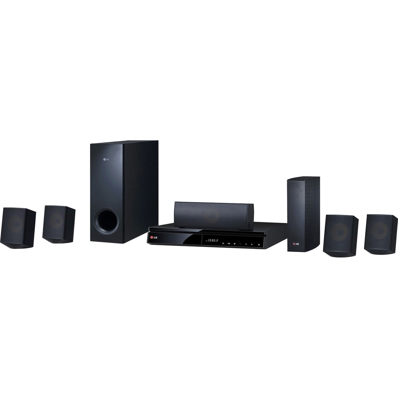 LG BH6830SW 1000W 5.1ch 3D Smart Home Theater System with Wireless Speakers