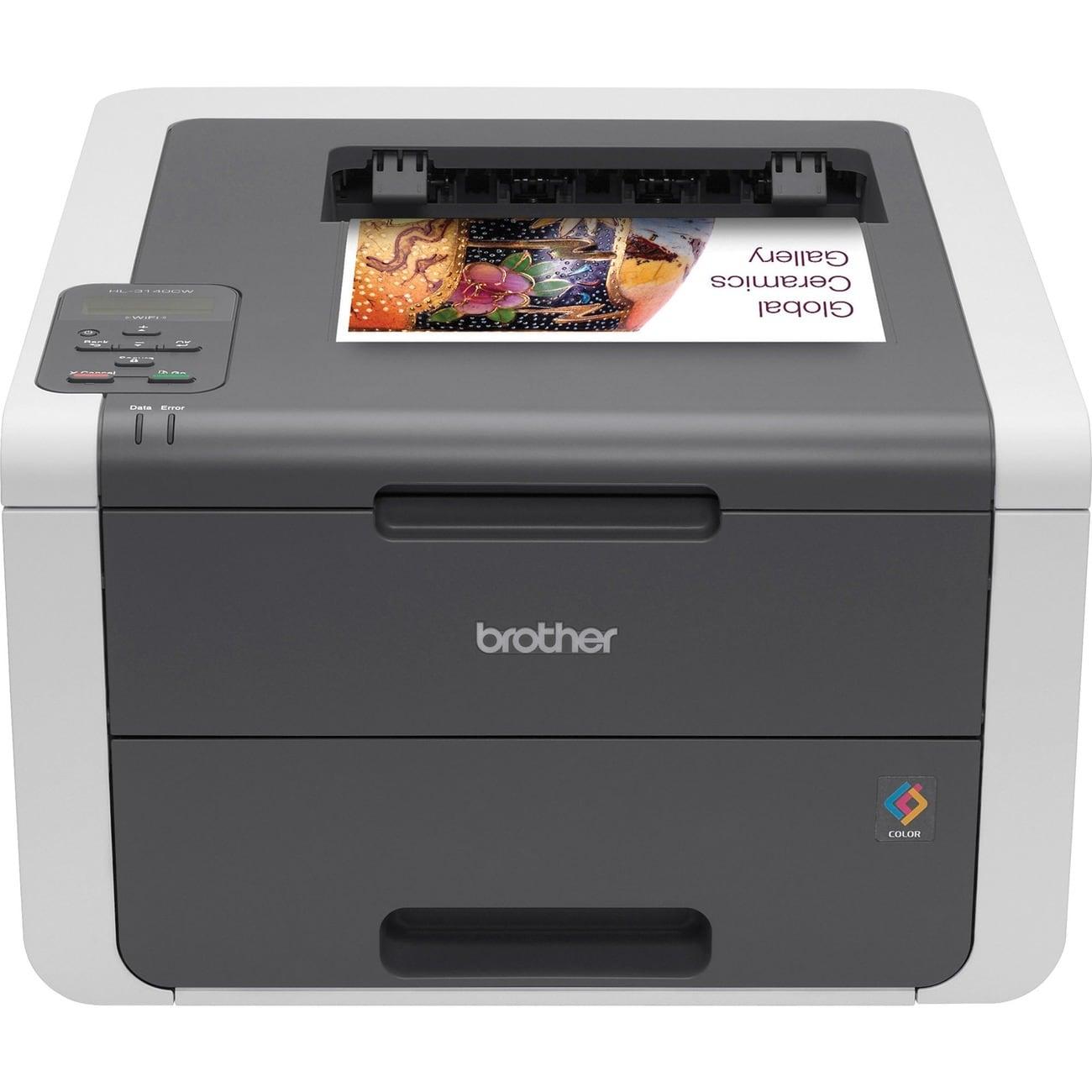 Brother HL-3140CW LED Printer - Color - 2400 x 600 dpi Print - Plain