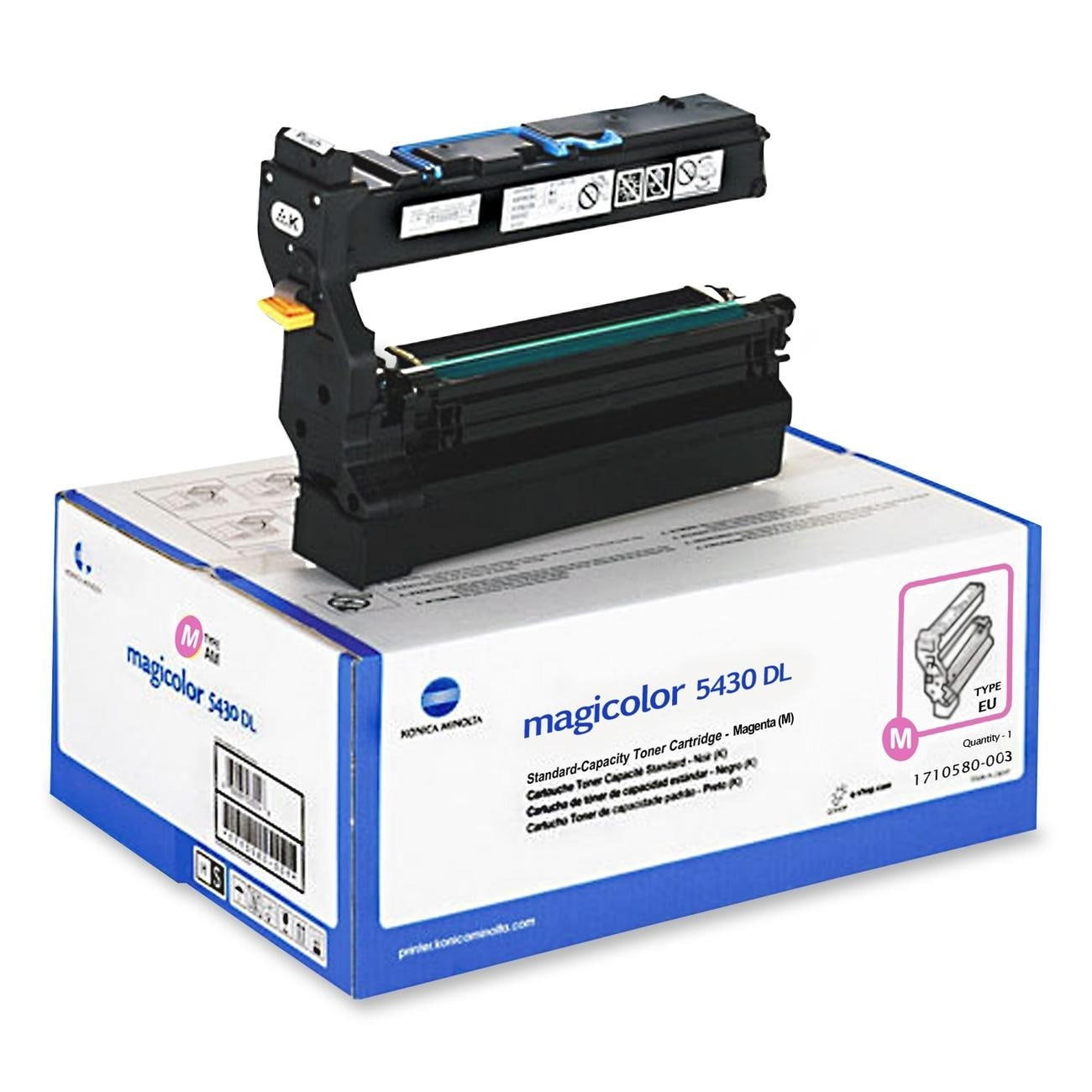 Konica Minolta Magenta Toner for magicolor 5430 DL