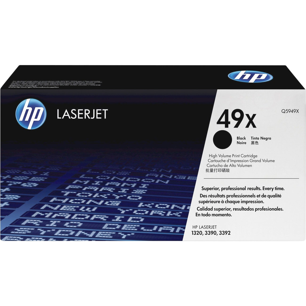 HP Black Toner Cartridge for TonrLaserJet 1320