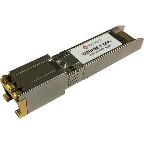 Cisco Compatible SFP-10G-T - Functionally Identical 10GBASE-T Copper SFP+ for Cat6A/Cat7 RJ-45 30m Max
