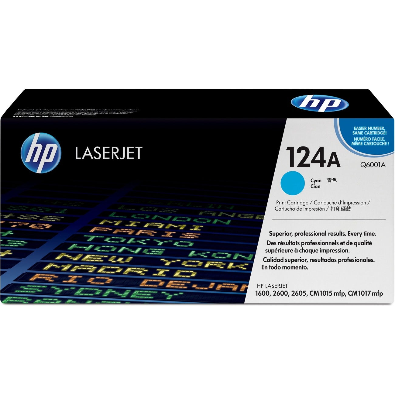 HP Toner Cartridge (Cyan) - Thumbnail 0