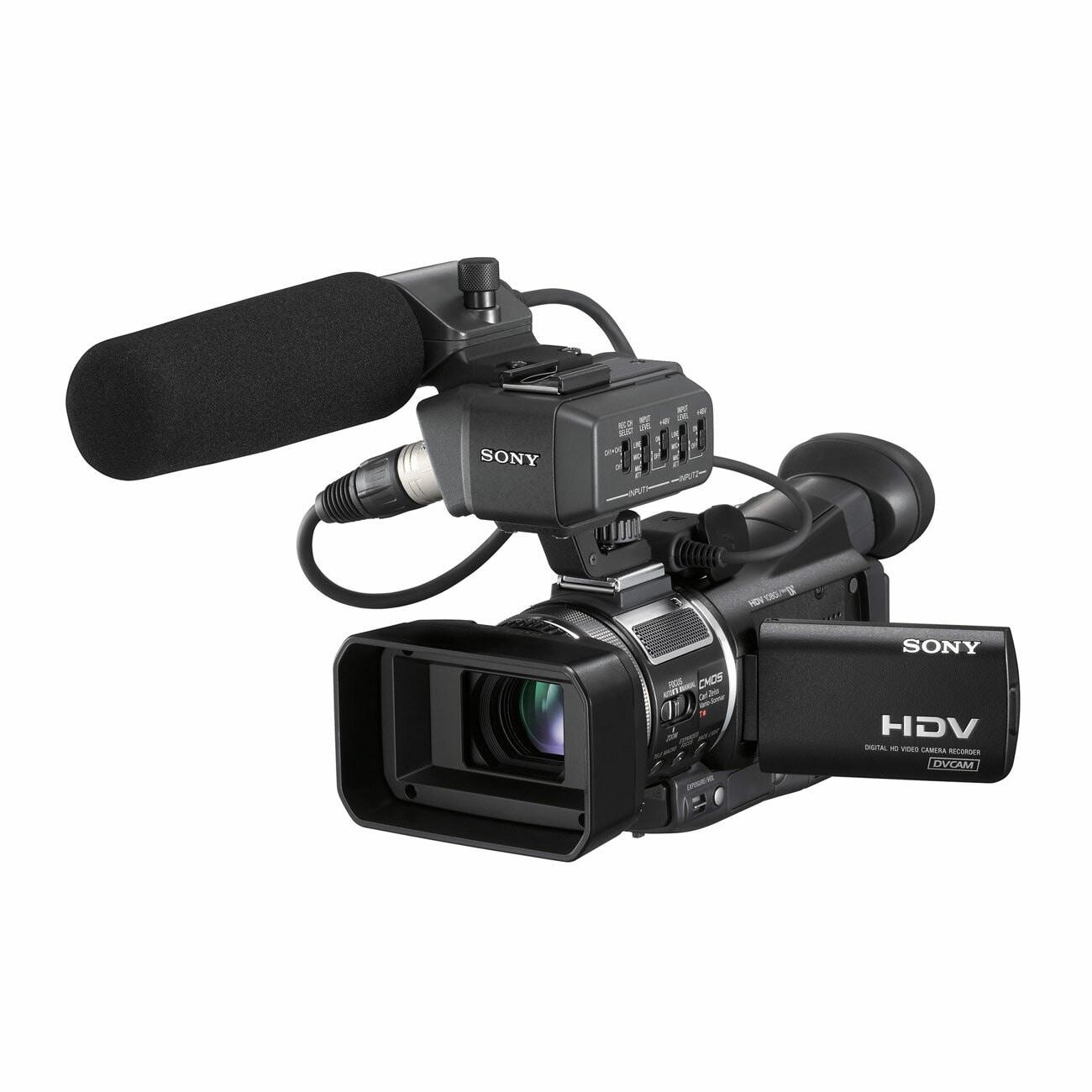 """Sony HVR-A1U Digital Camcorder - 2.7"""" LCD - CMOS"""