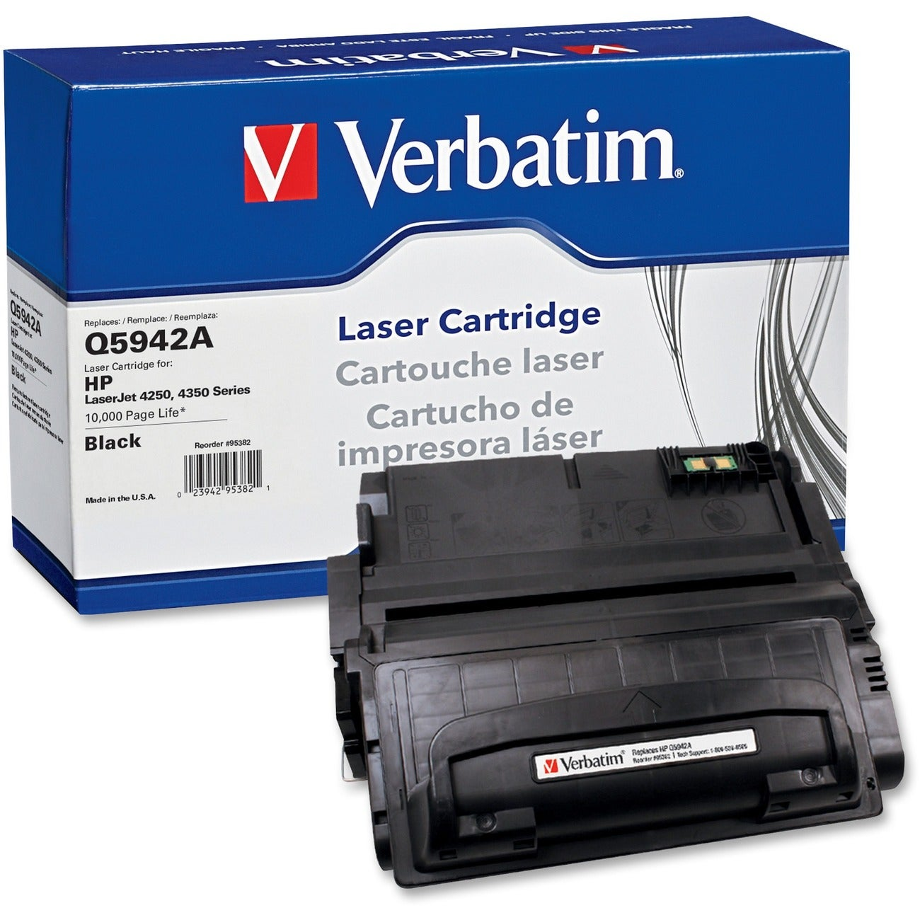 Verbatim Toner Cartridge (Black) - Thumbnail 0