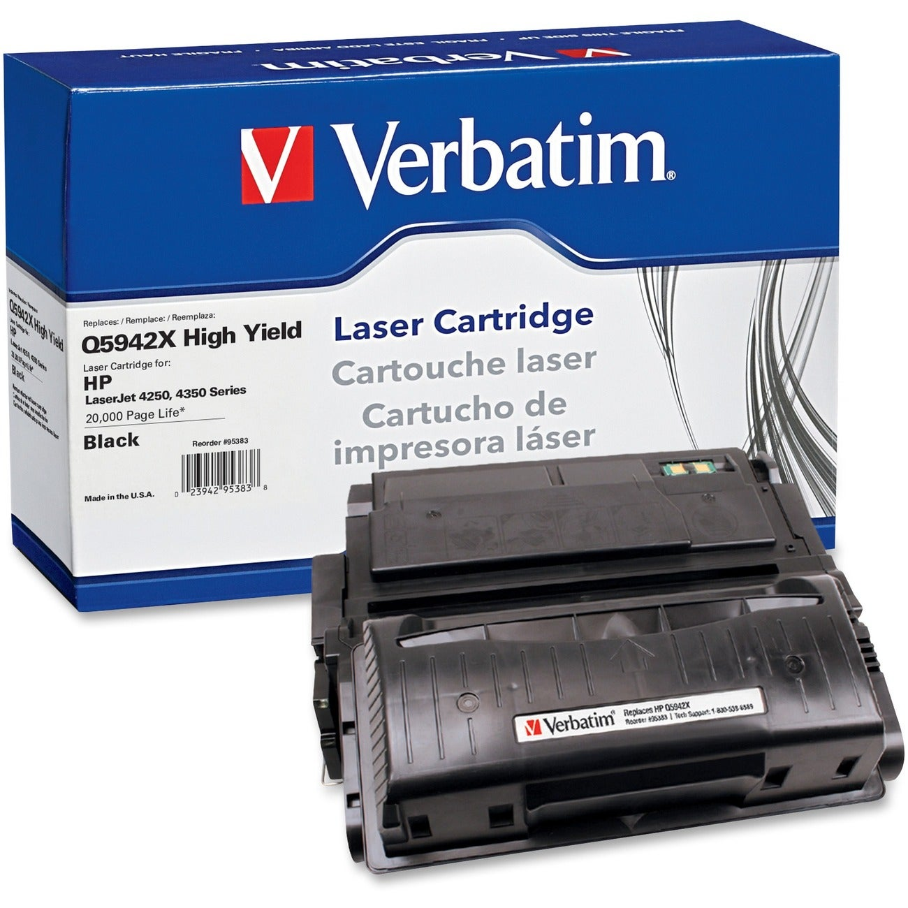 Verbatim Black Toner Cartridge - Thumbnail 0