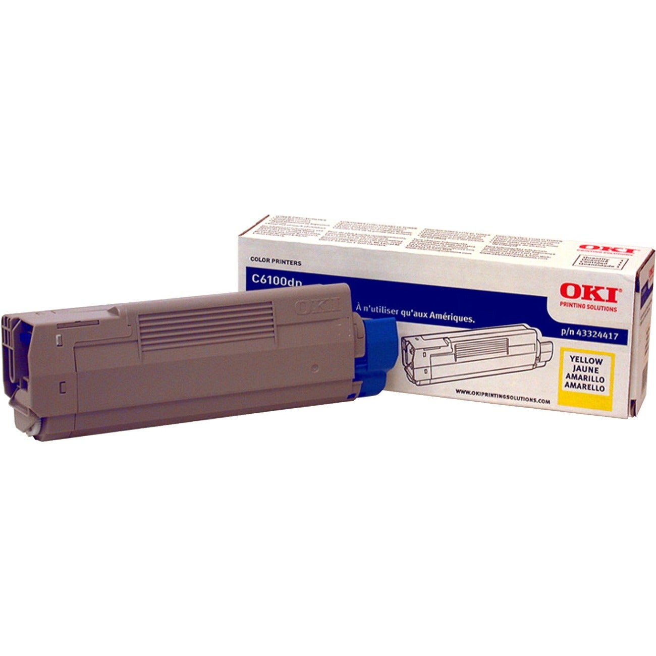 Oki Yellow 5,000-Page Toner Cartridge