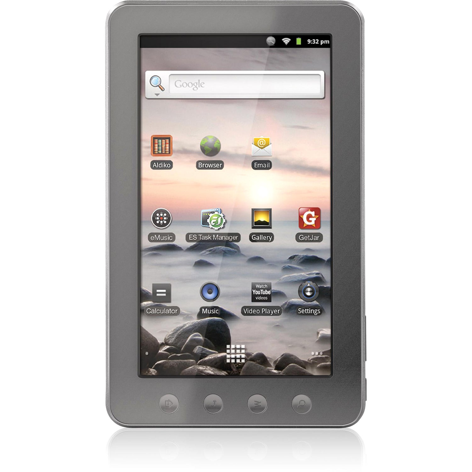 "Coby Kyros MID7014-4G Tablet - 7"" - 256 MB - Telechips ARM11 800 MHz"