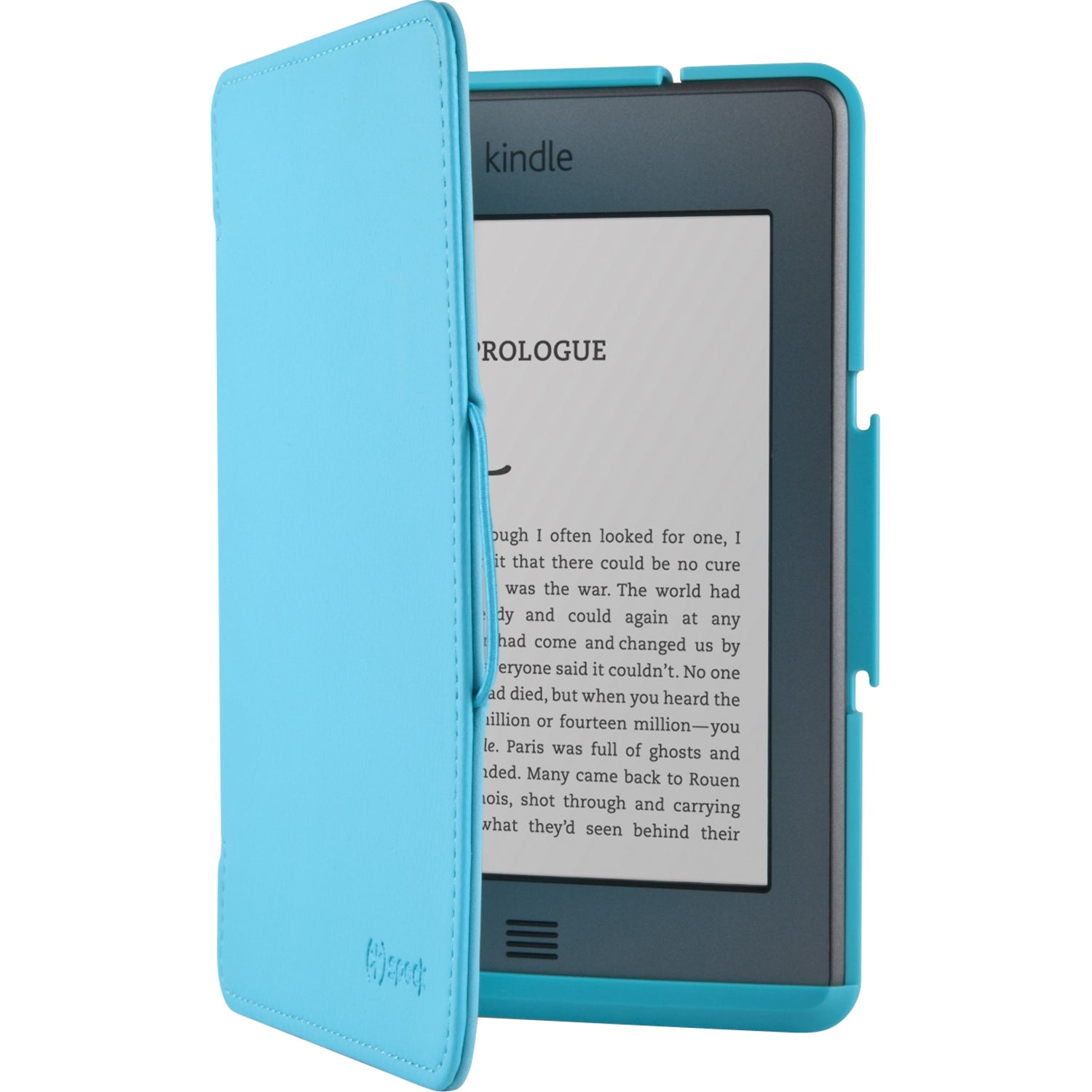 """Speck FitFolio Carrying Case (Folio) for 6"""" Digital Text Reader - Pea"""